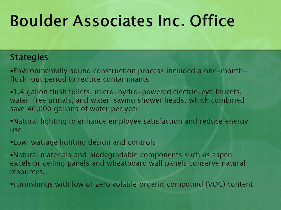 Boulder Associates Inc. Office