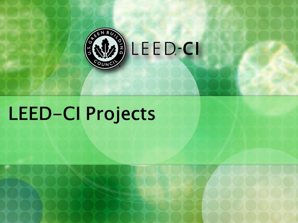 LEED-CI Projects