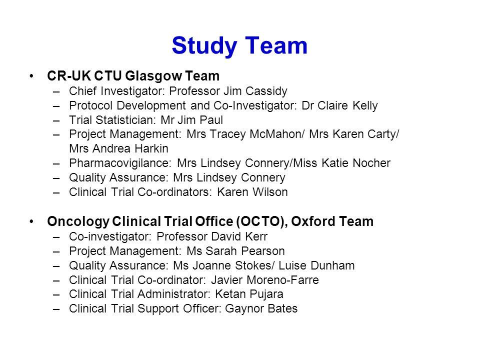 Study Team CR-UK CTU Glasgow Team