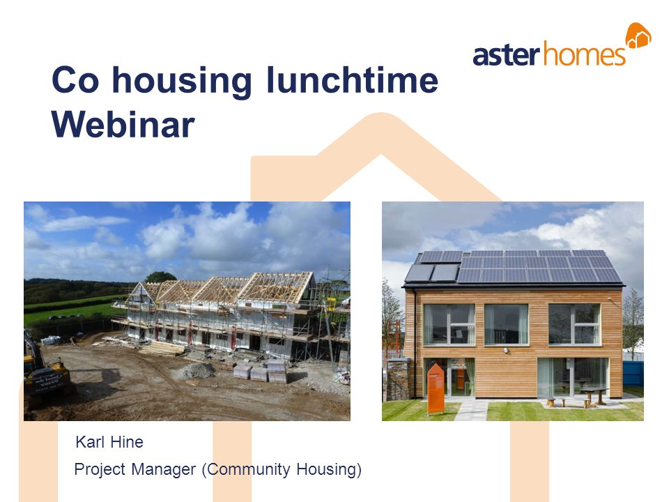 Co housing lunchtime Webinar