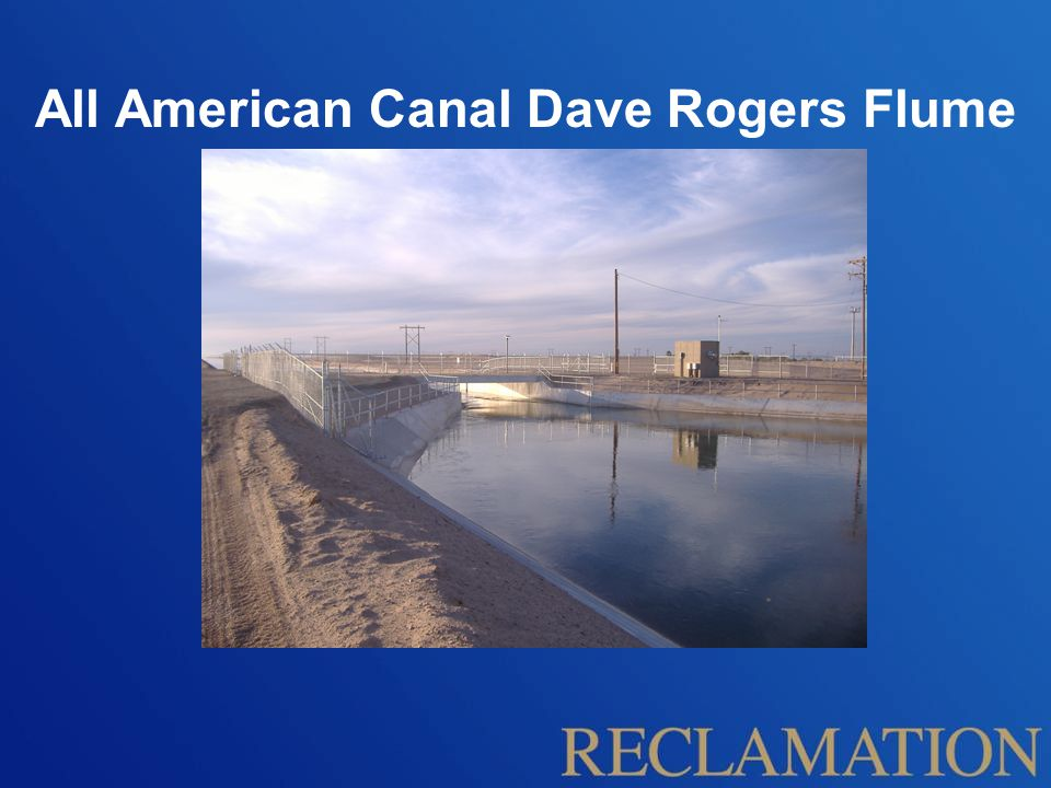 All American Canal Dave Rogers Flume