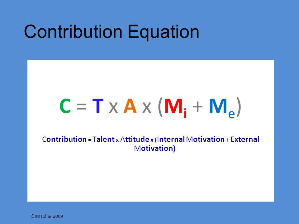 Contribution Equation
