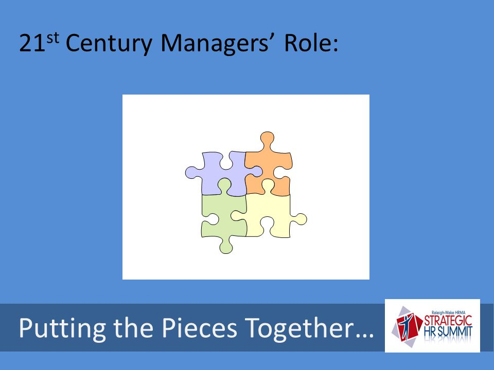 21st Century Managers' Role: