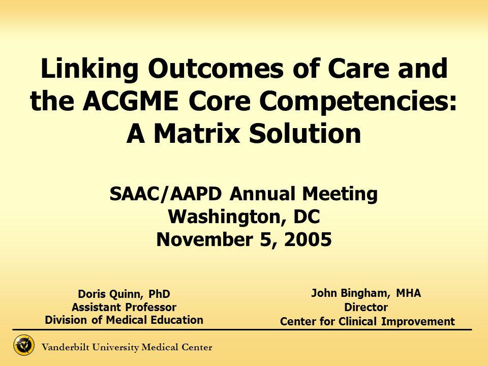 John Bingham, MHA Director Center for Clinical Improvement