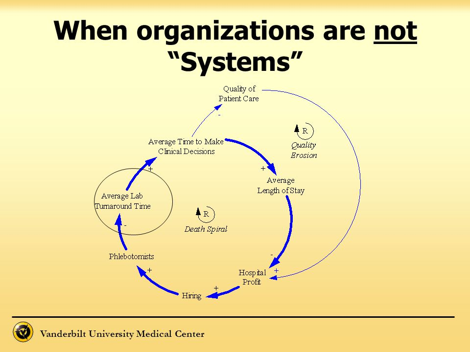 When organizations are not Systems
