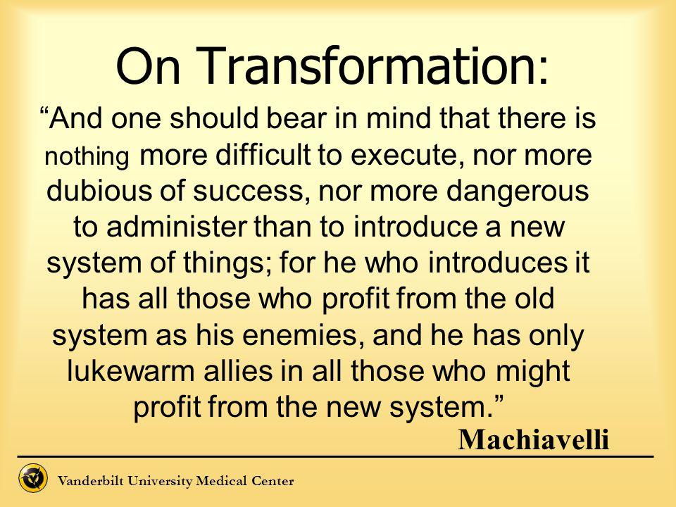 On Transformation: