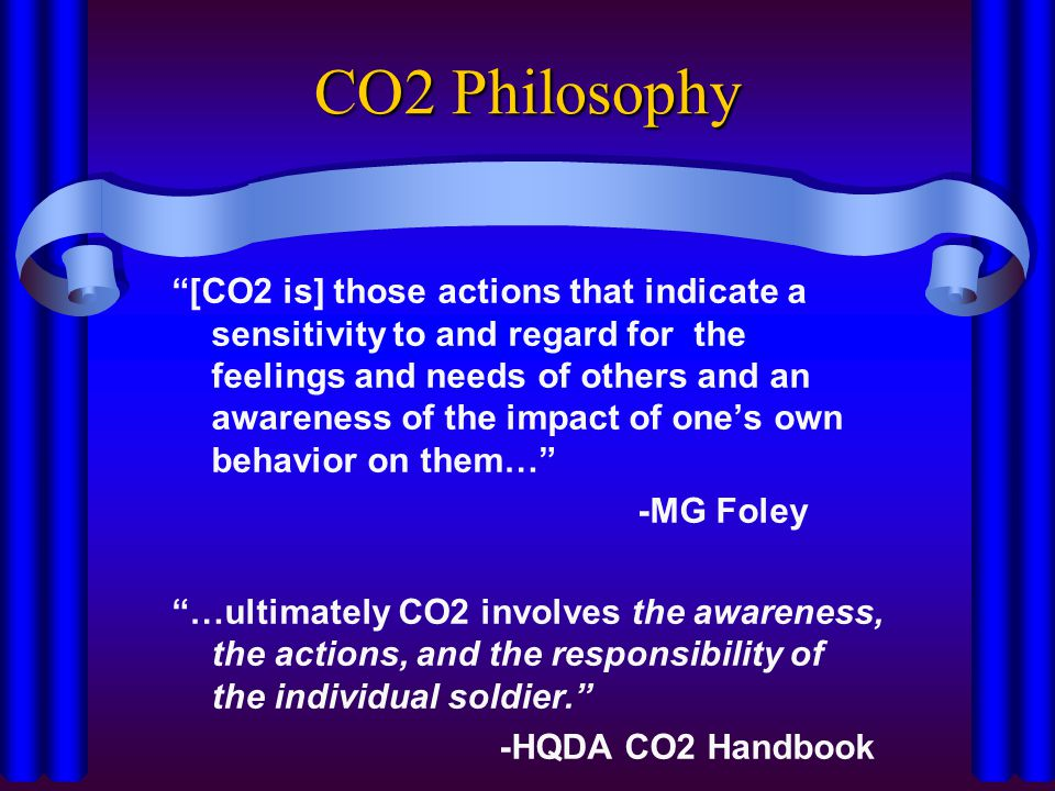 CO2 Philosophy