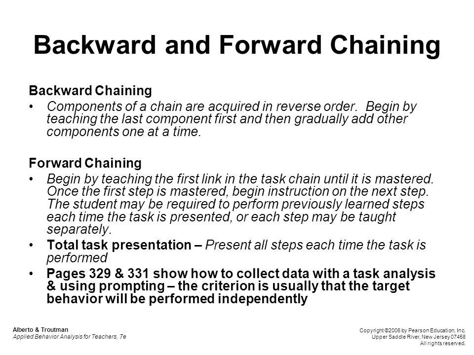 Backward and Forward Chaining