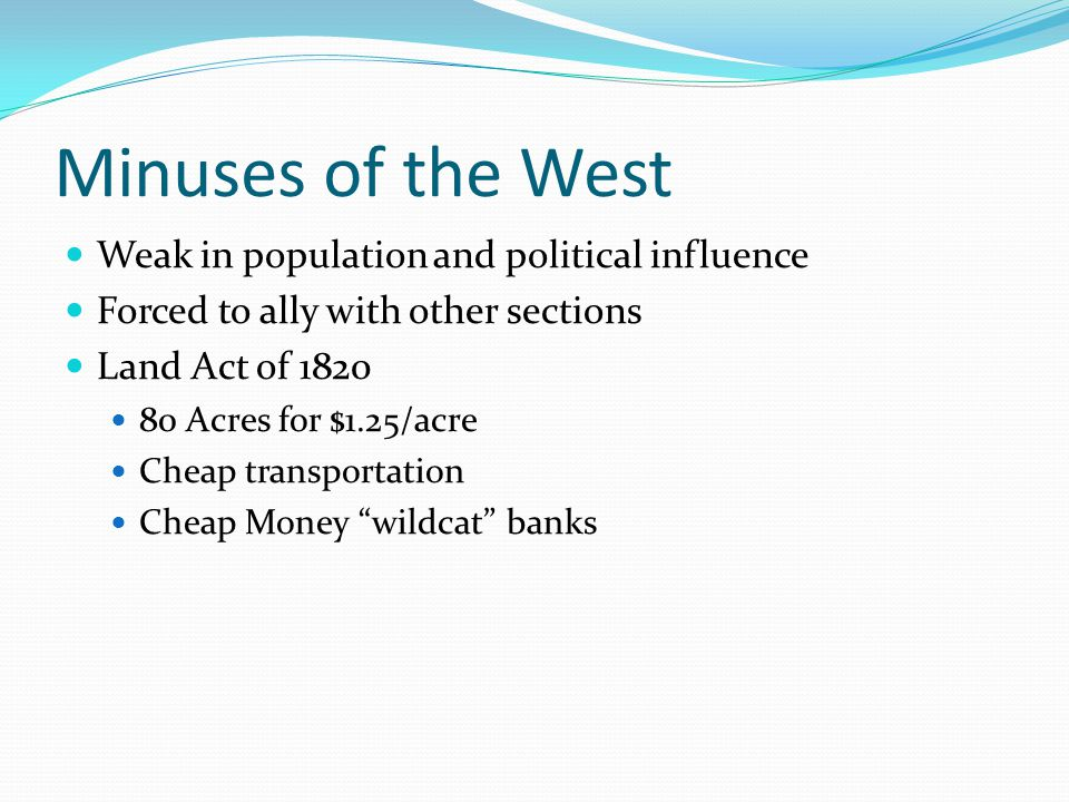 Minuses of the West Weak in population and political influence