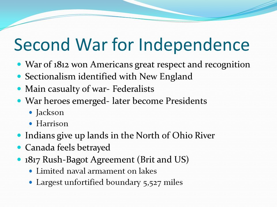 Second War for Independence
