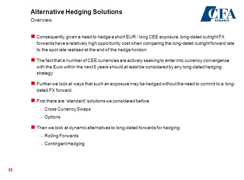 Alternative Hedging Solutions Overview