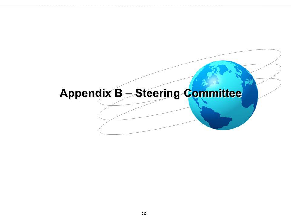 Appendix B – Steering Committee