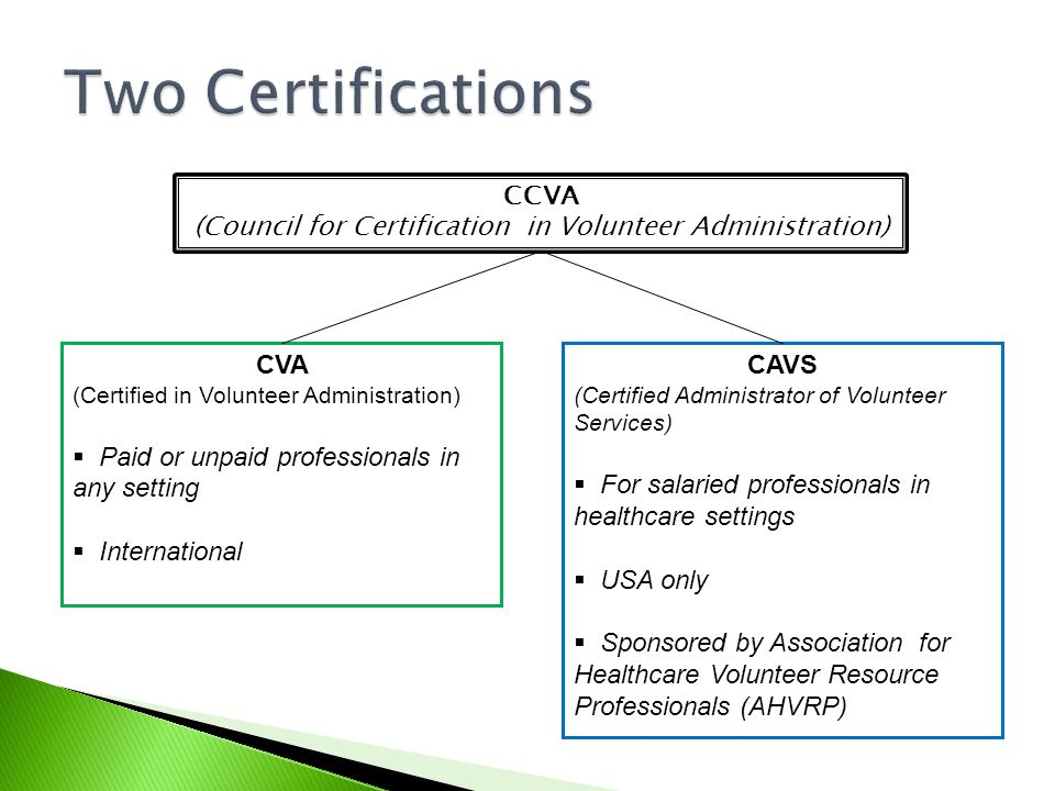 (Council for Certification in Volunteer Administration)
