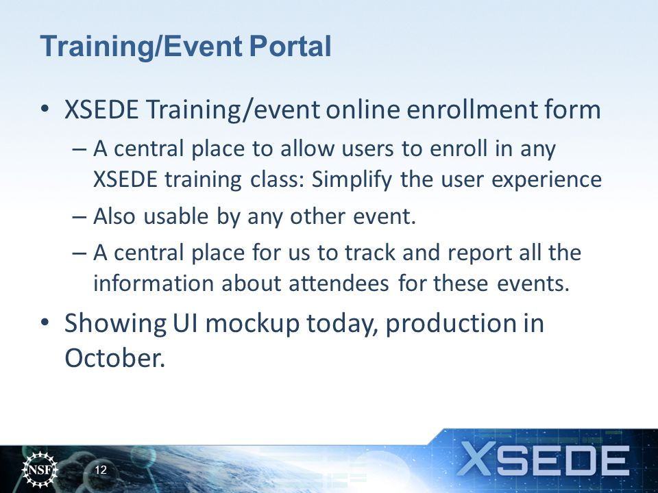 Training/Event Portal