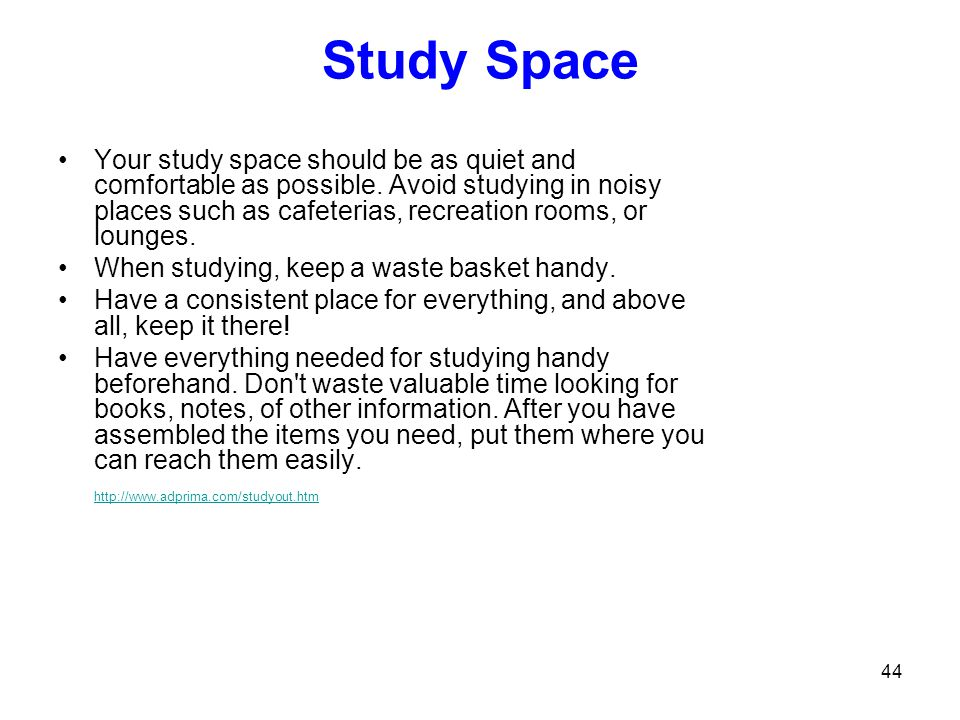 Study Space
