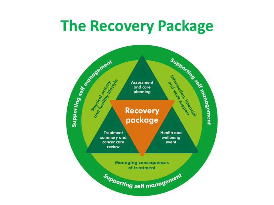 The Recovery Package The recovery package consists of 4 key elements: