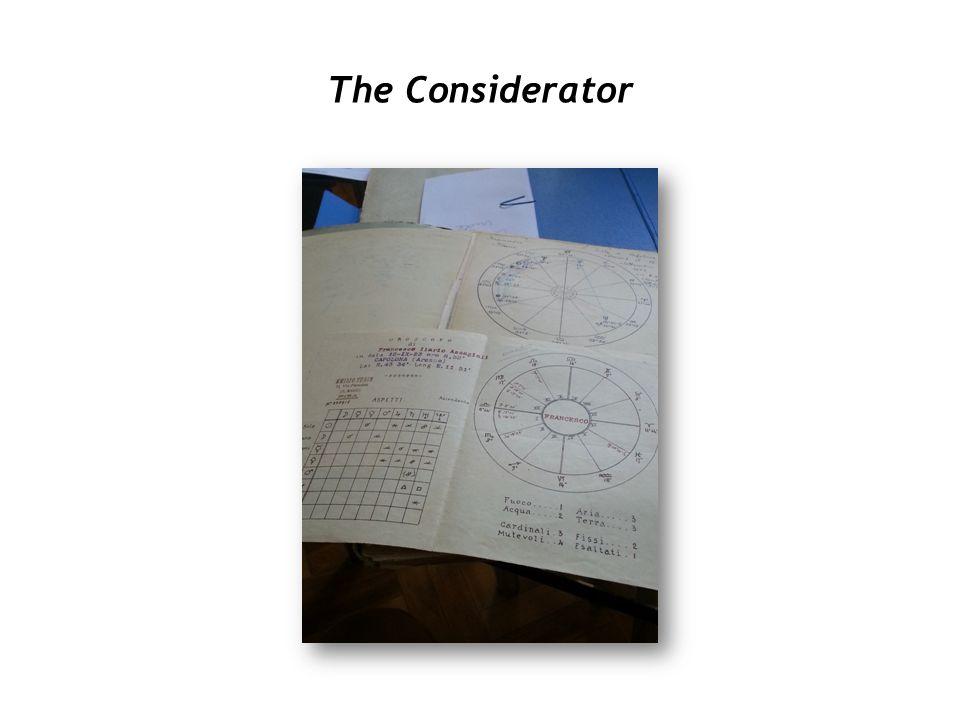 The Considerator