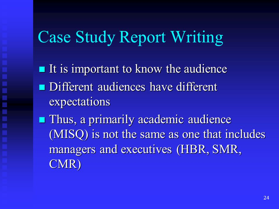 case study writing workshop Video created by duke university for the course english composition i this week, various aspects of effective research will be discussed, such as creating an annotated bibliography.