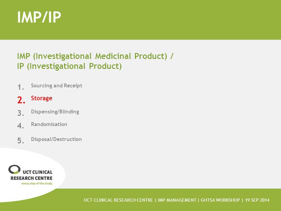 IMP/IP IMP (Investigational Medicinal Product) /
