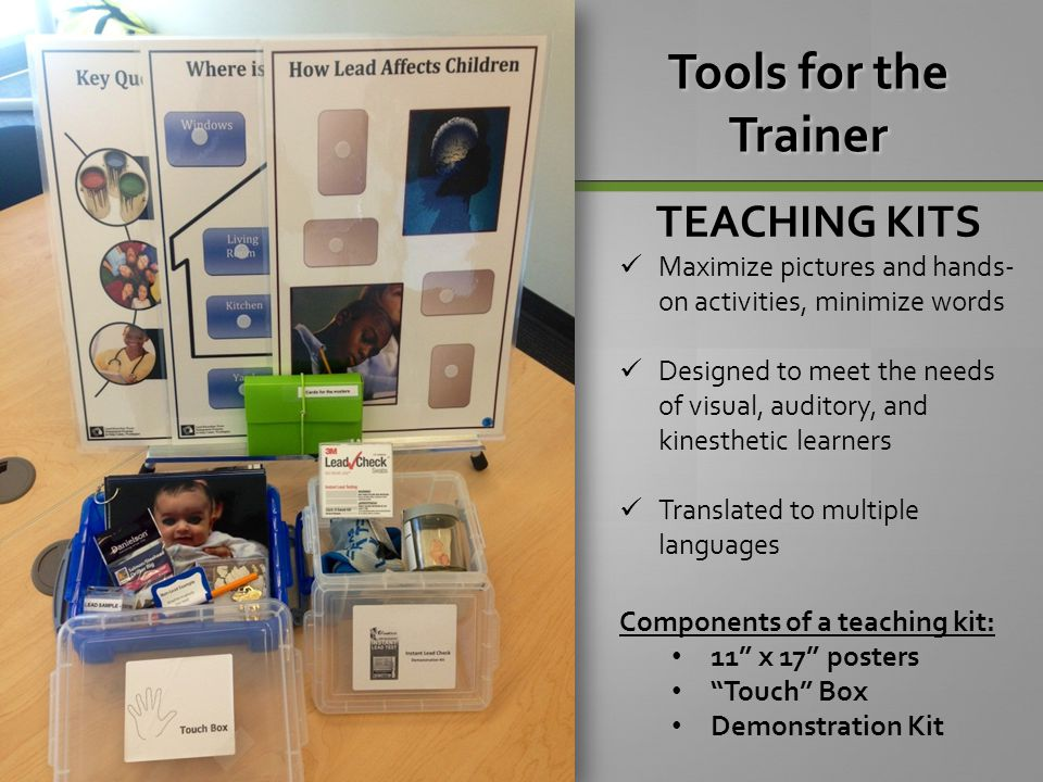 Tools for the Trainer TEACHING KITS