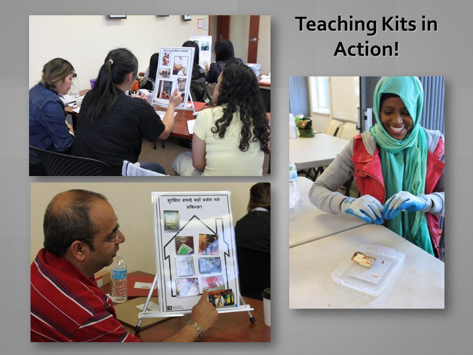 Teaching Kits in Action!
