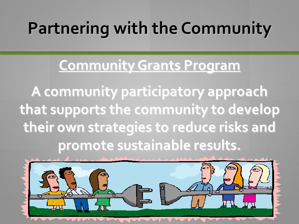 Partnering with the Community