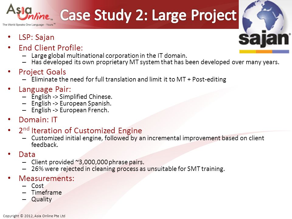 Case Study 2: Large Project