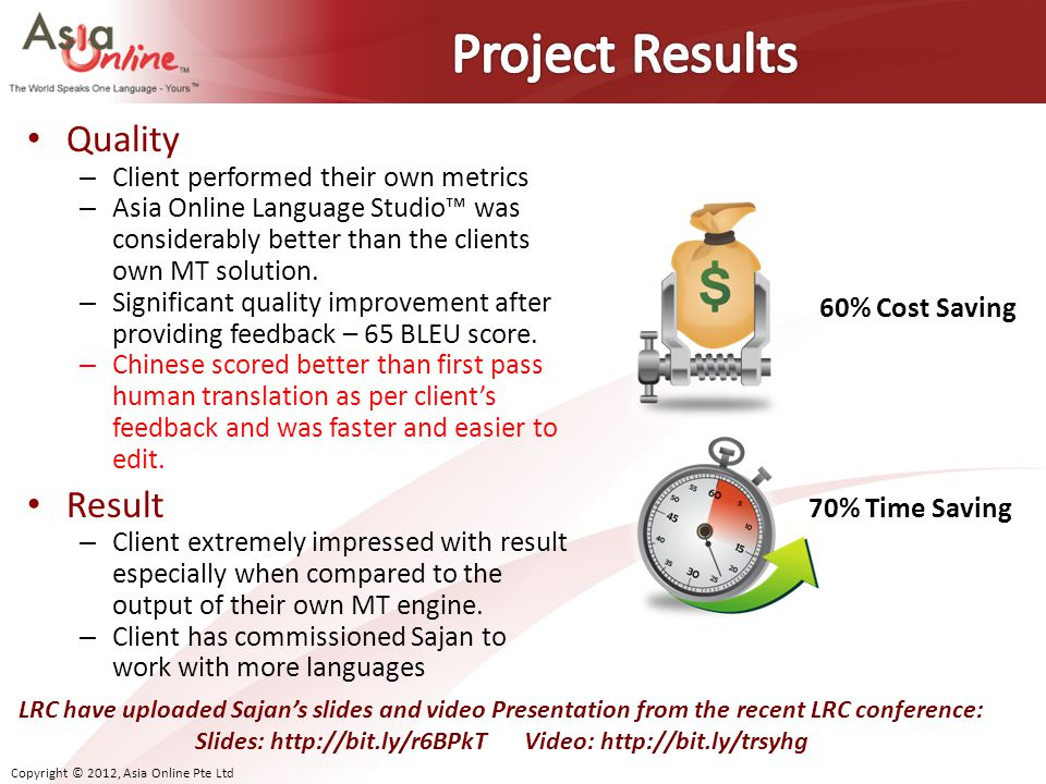 Slides: http://bit.ly/r6BPkT Video: http://bit.ly/trsyhg
