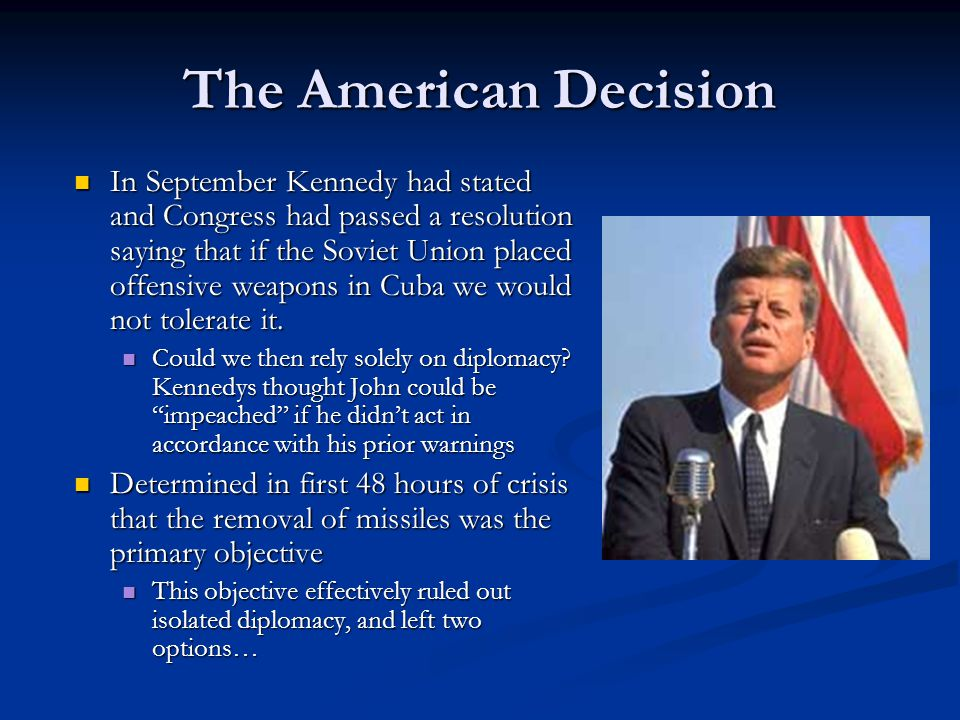 The American Decision