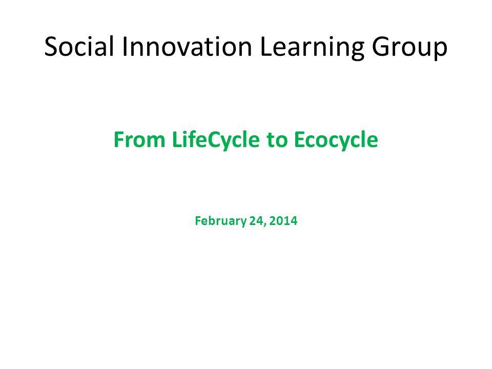 Social Innovation Learning Group