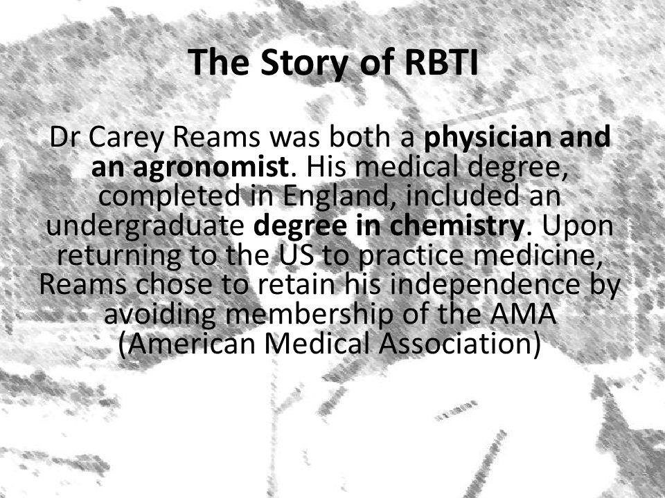 The Story of RBTI
