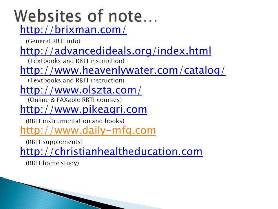 http://brixman.com/ http://advancedideals.org/index.html