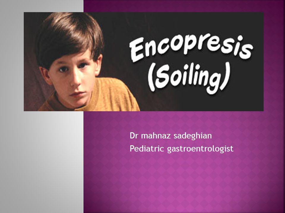 Dr mahnaz sadeghian Pediatric gastroentrologist