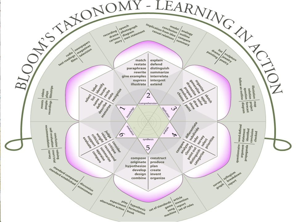 The level of student learning across Blooms Taxonomy can also influence the barriers students encounter.