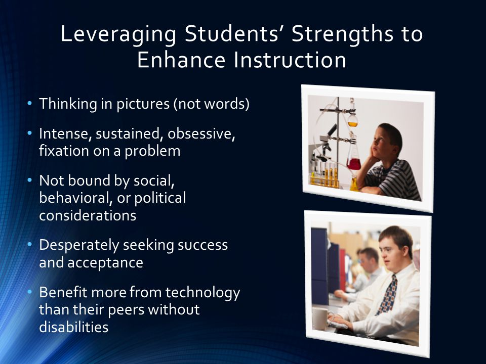 Leveraging Students' Strengths to Enhance Instruction
