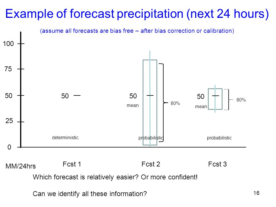 Example of forecast precipitation (next 24 hours)