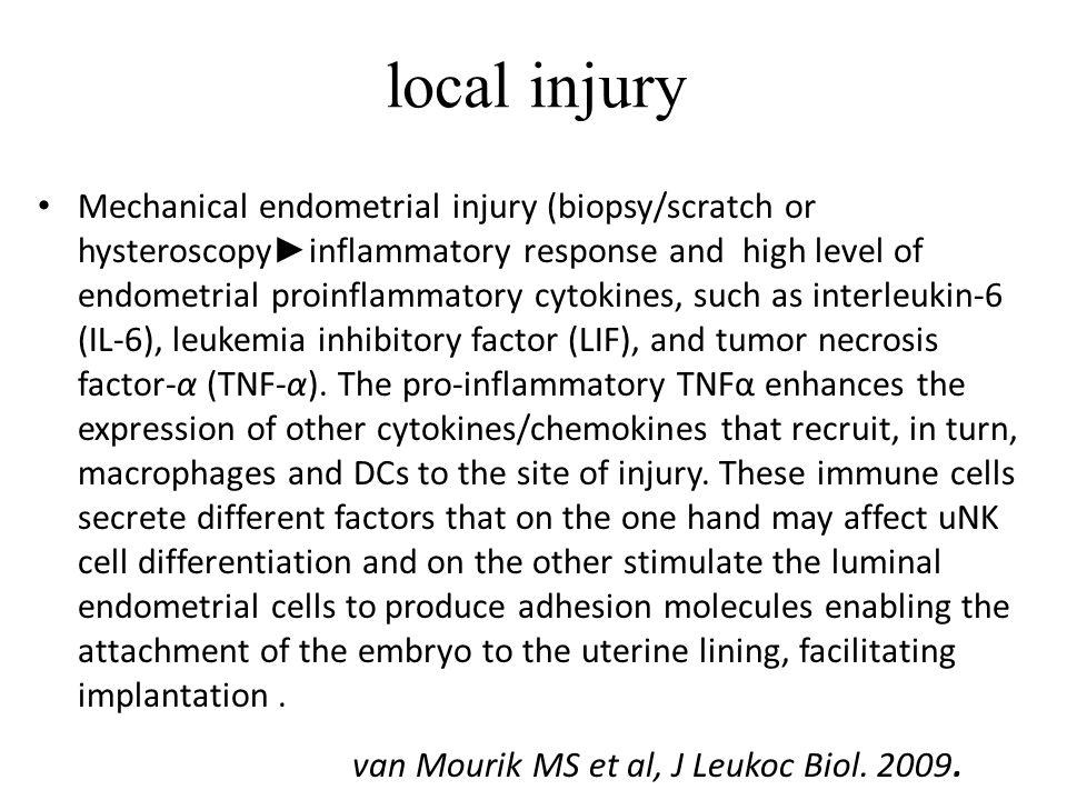 local injury