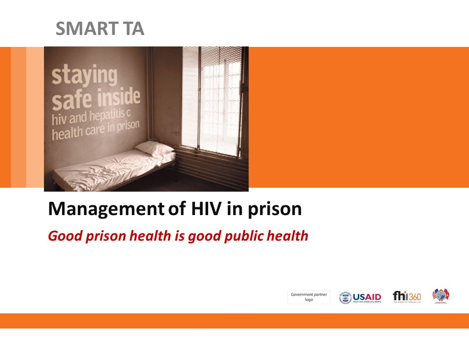 Management of HIV in prison
