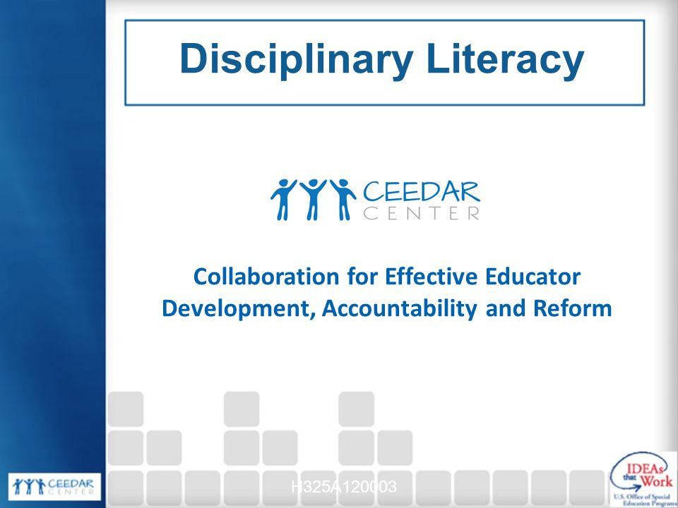 disciplinary literacy Profiles of highly effective disciplinary literacy coaches illustrate the nuts and  bolts of the job and highlight ways to deal with common challenges in a large- size.