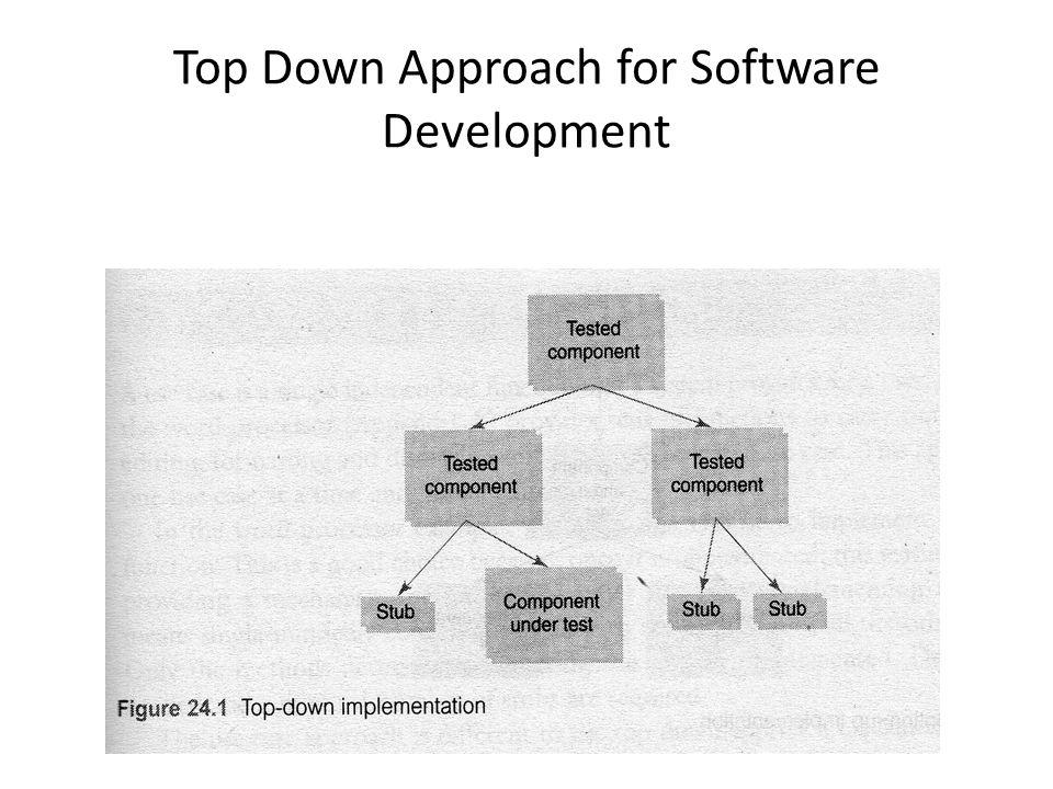 Top Down Approach for Software Development