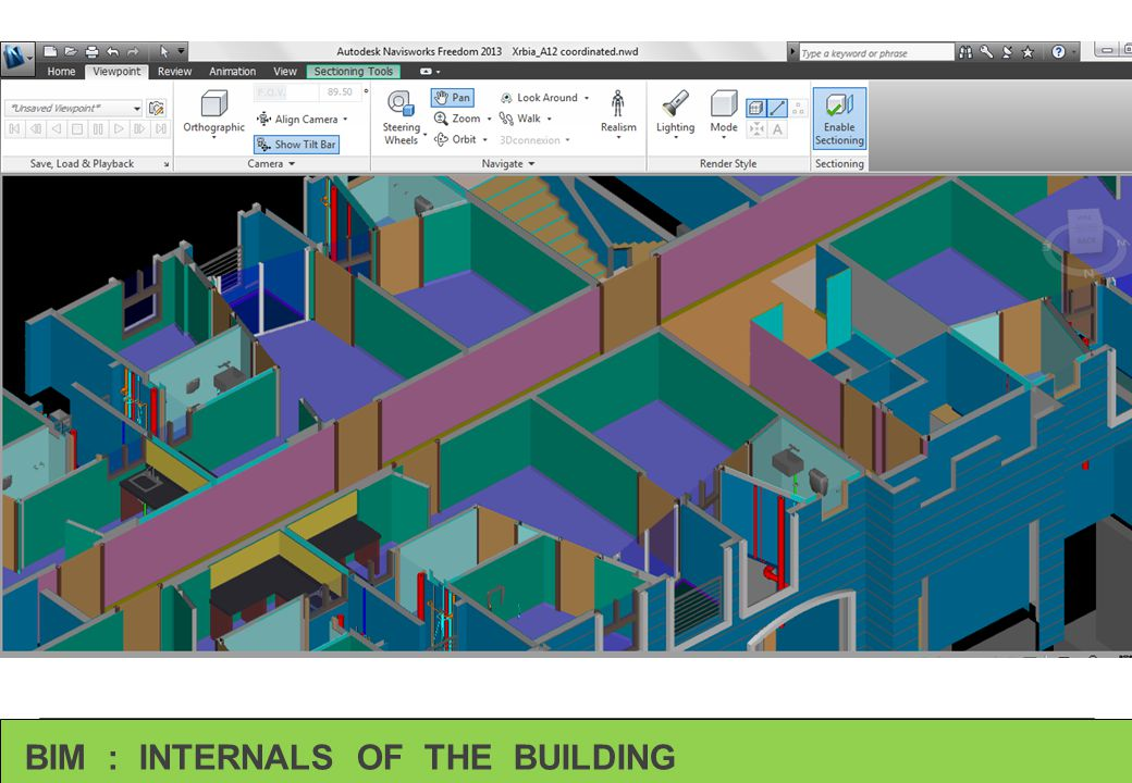 BIM : INTERNALS OF THE BUILDING