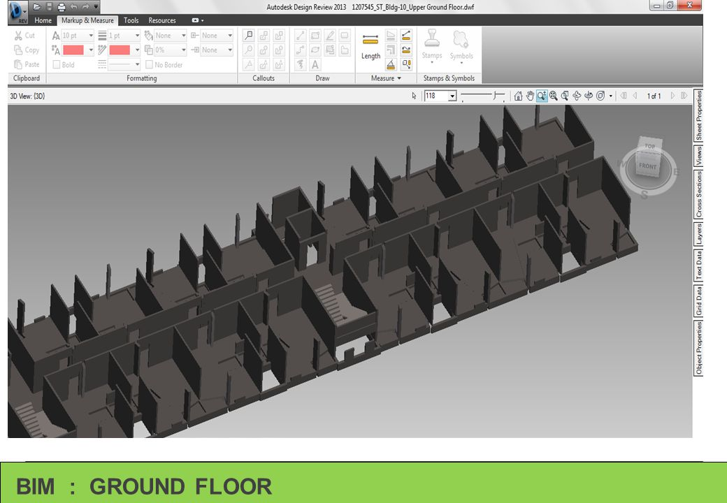 BIM : GROUND FLOOR