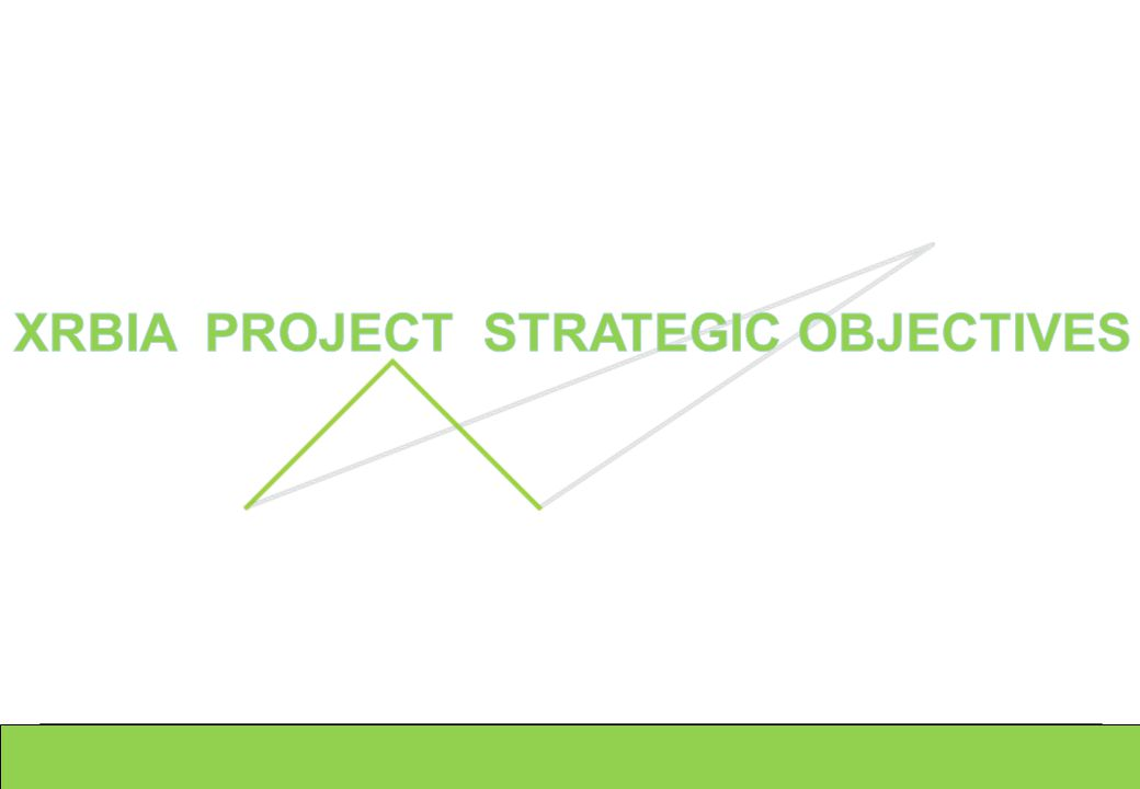 XRBIA PROJECT STRATEGIC OBJECTIVES