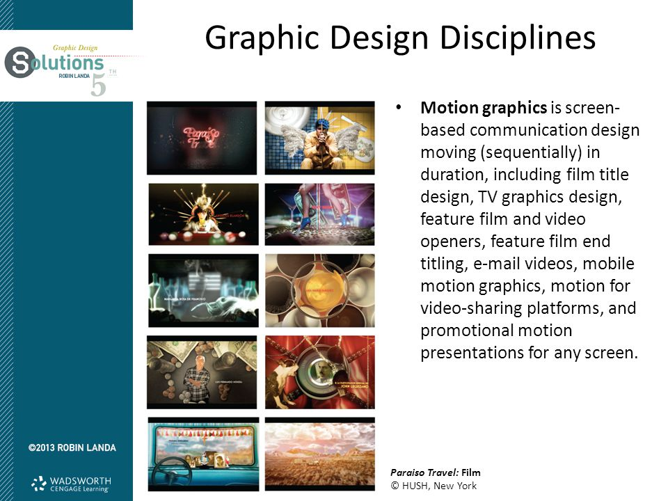 Graphic Design Disciplines