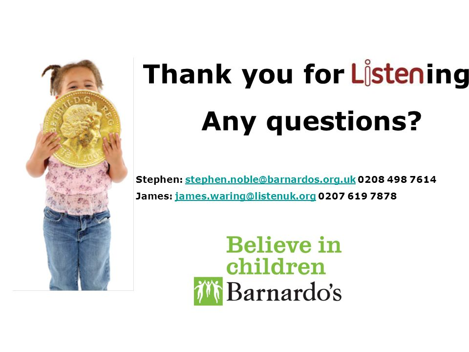 Thank you for istening! Any questions