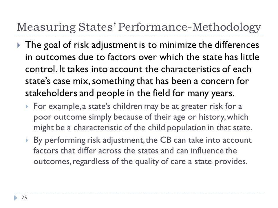 Measuring States' Performance-Methodology