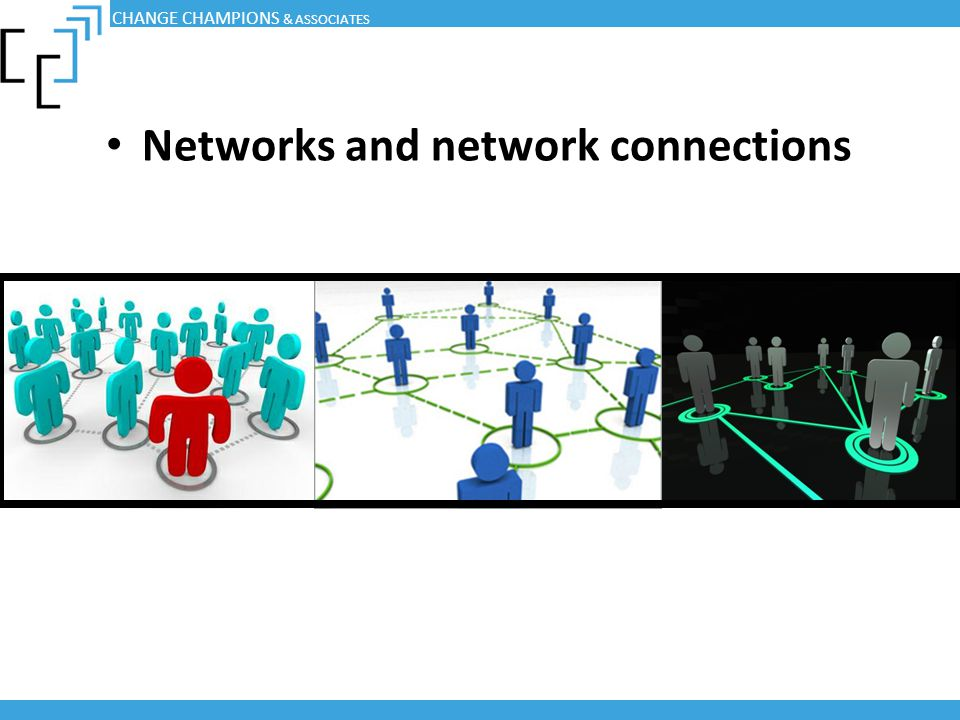 Networks and network connections