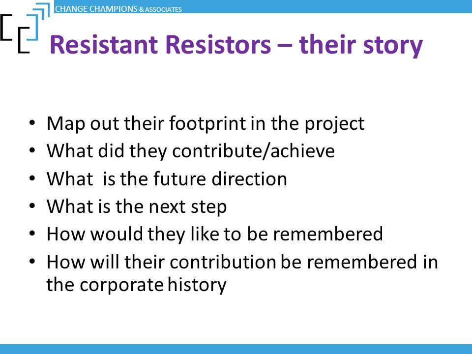 Resistant Resistors – their story