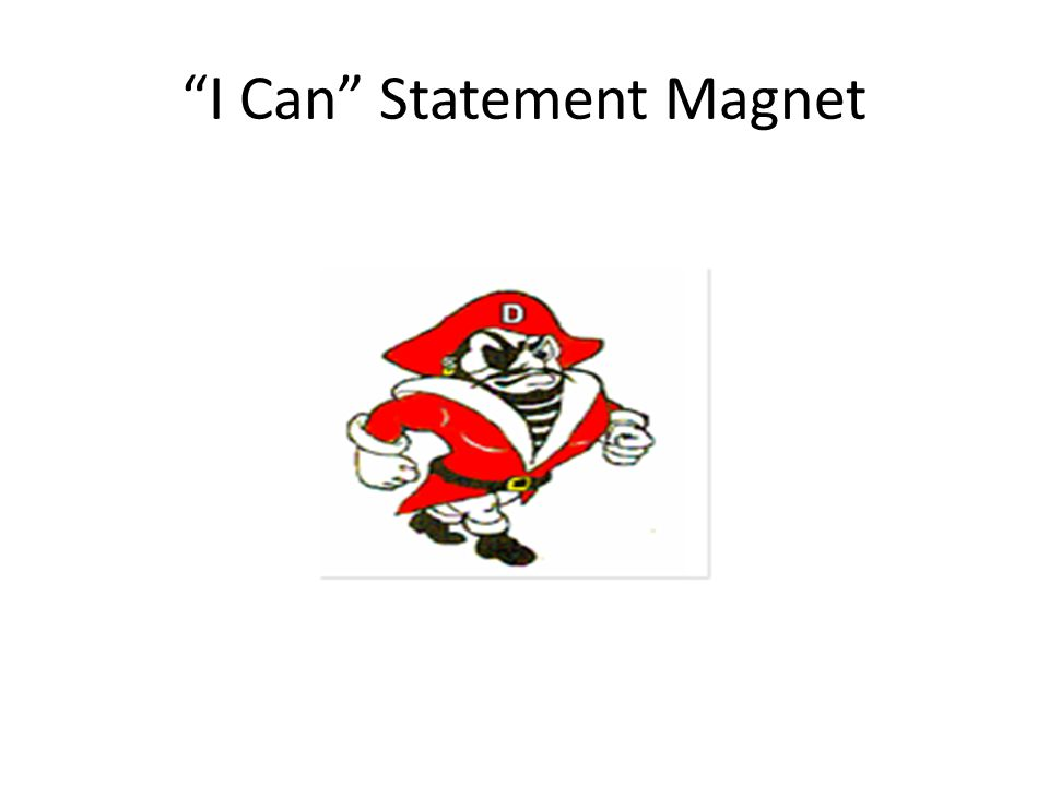 I Can Statement Magnet