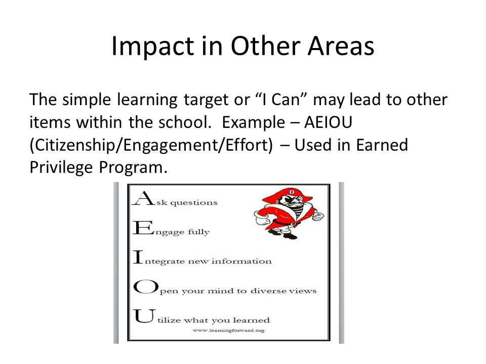 Impact in Other Areas